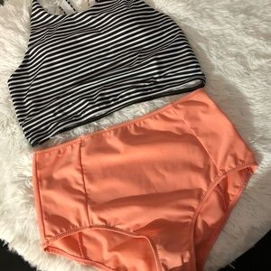 0316bb4d5fd LASHAPEAR Swim - Lashapear 2 piece high waist bikini. Size large.